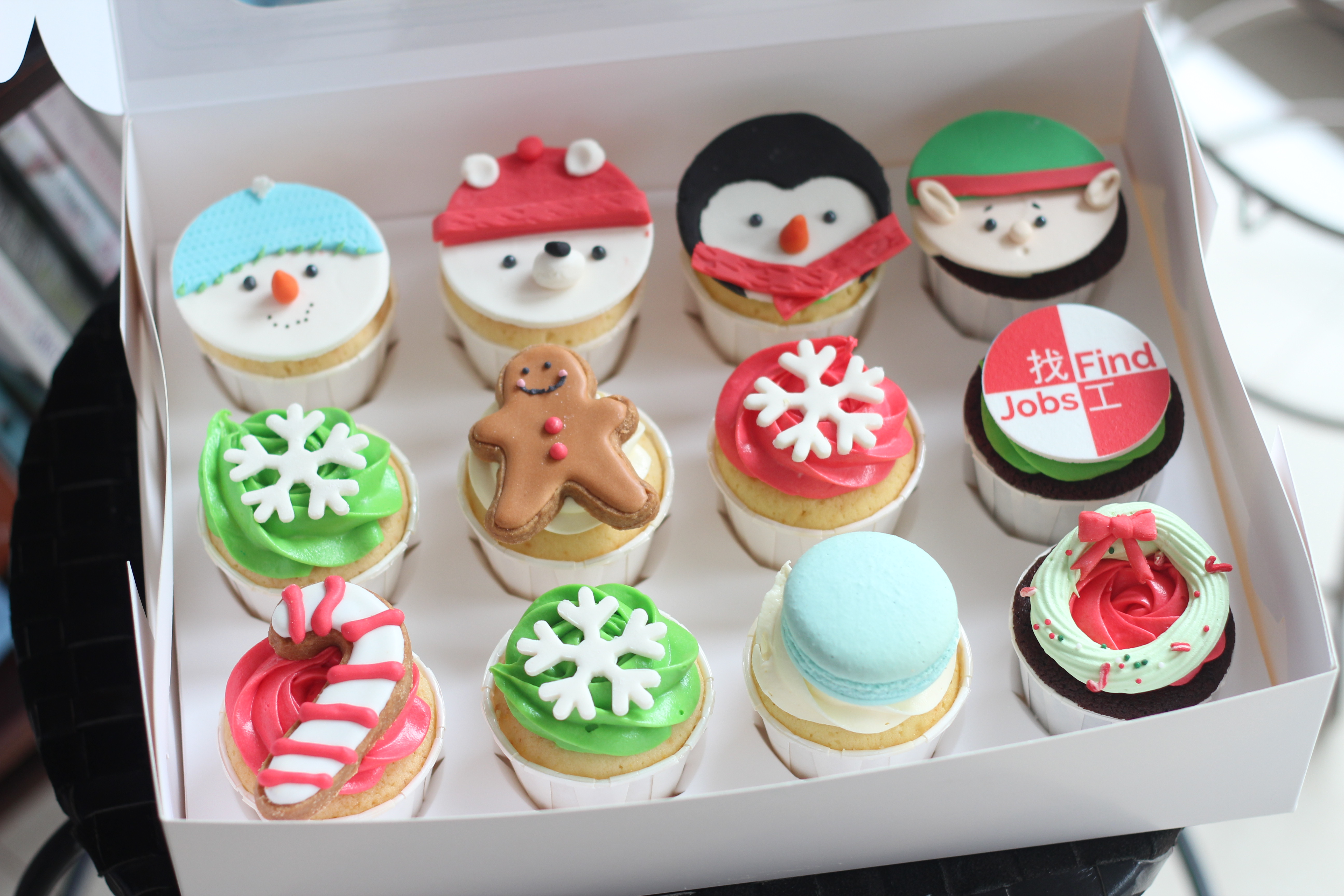 Christmas cupcakes 12pcs stanley