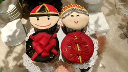 Chinos chinese wedding cupcakes