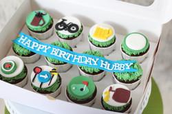 customized cupcakes men