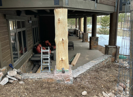 structural post replacement