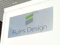 社名プレートをエントランスホールに掲示します