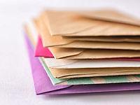 専用郵便受けに届いた郵便物を転送します