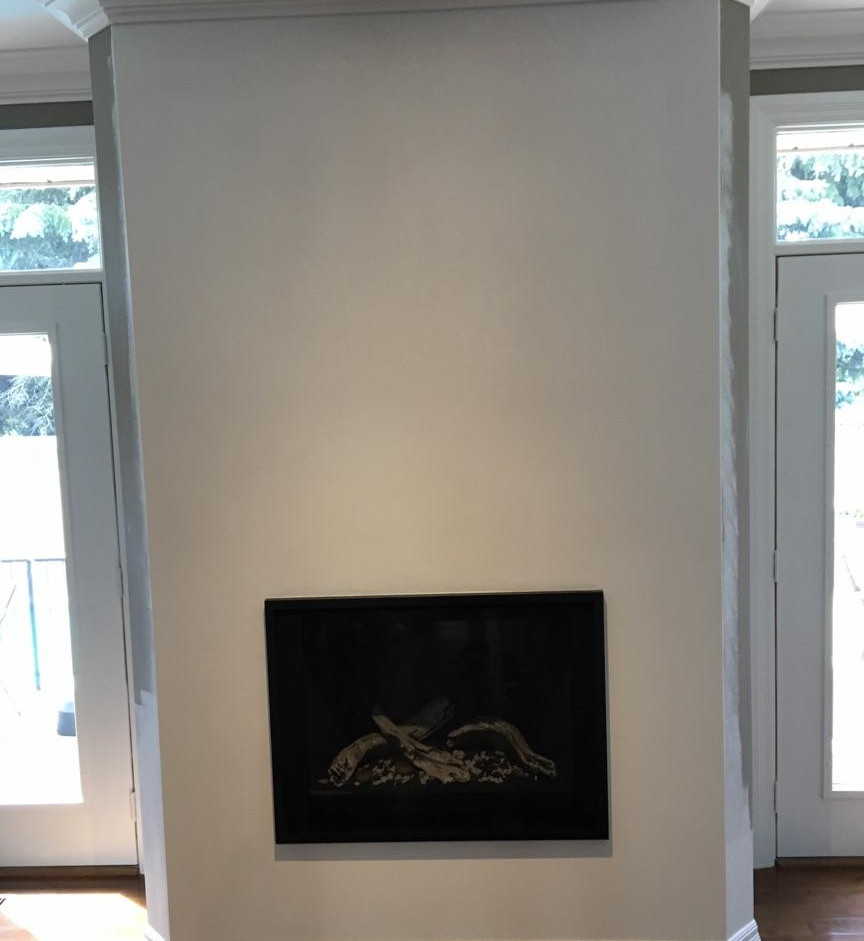 Valor H5 ZC fireplace and enclosure