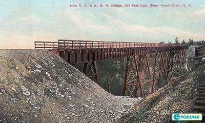 Historic Photo Train Truss