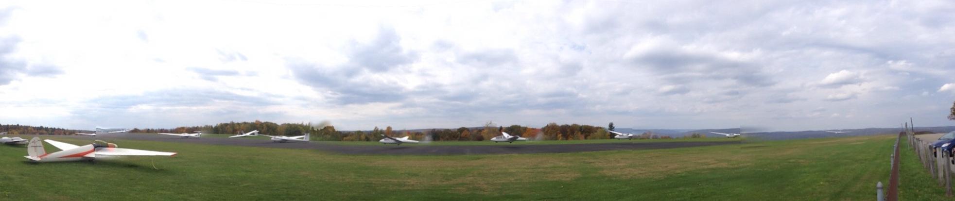 Panoramic Landing