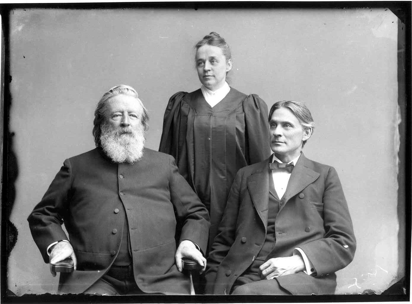 Rev. Beecher and Eastman Family