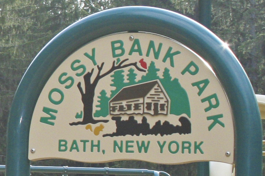 Mossy Bank Park Sign