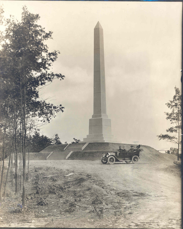 Historic Photo Sullivan's Momument