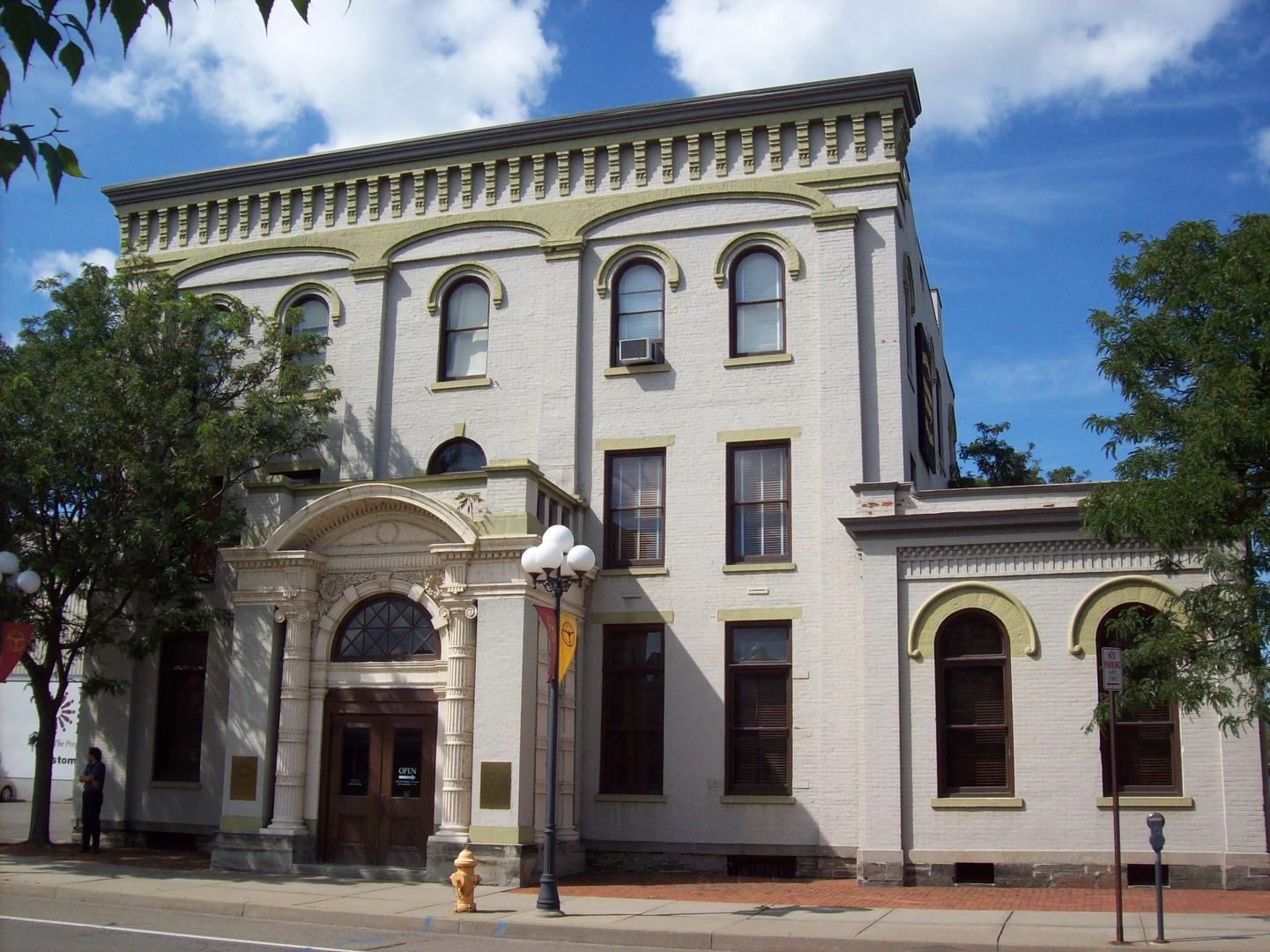 CCHS bank exterior