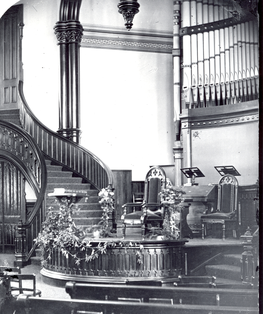 Park Church Interior