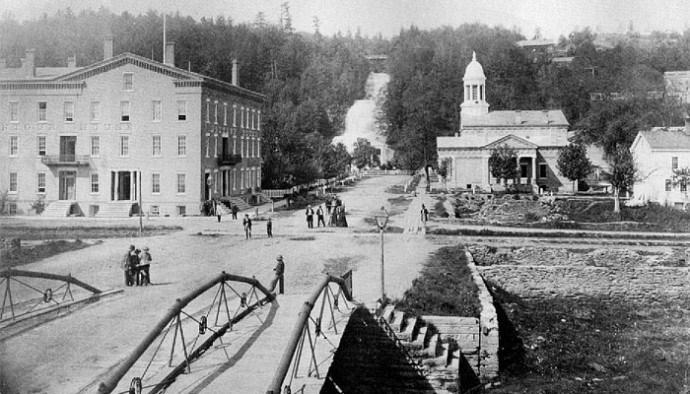 Historic Shaquaga Falls