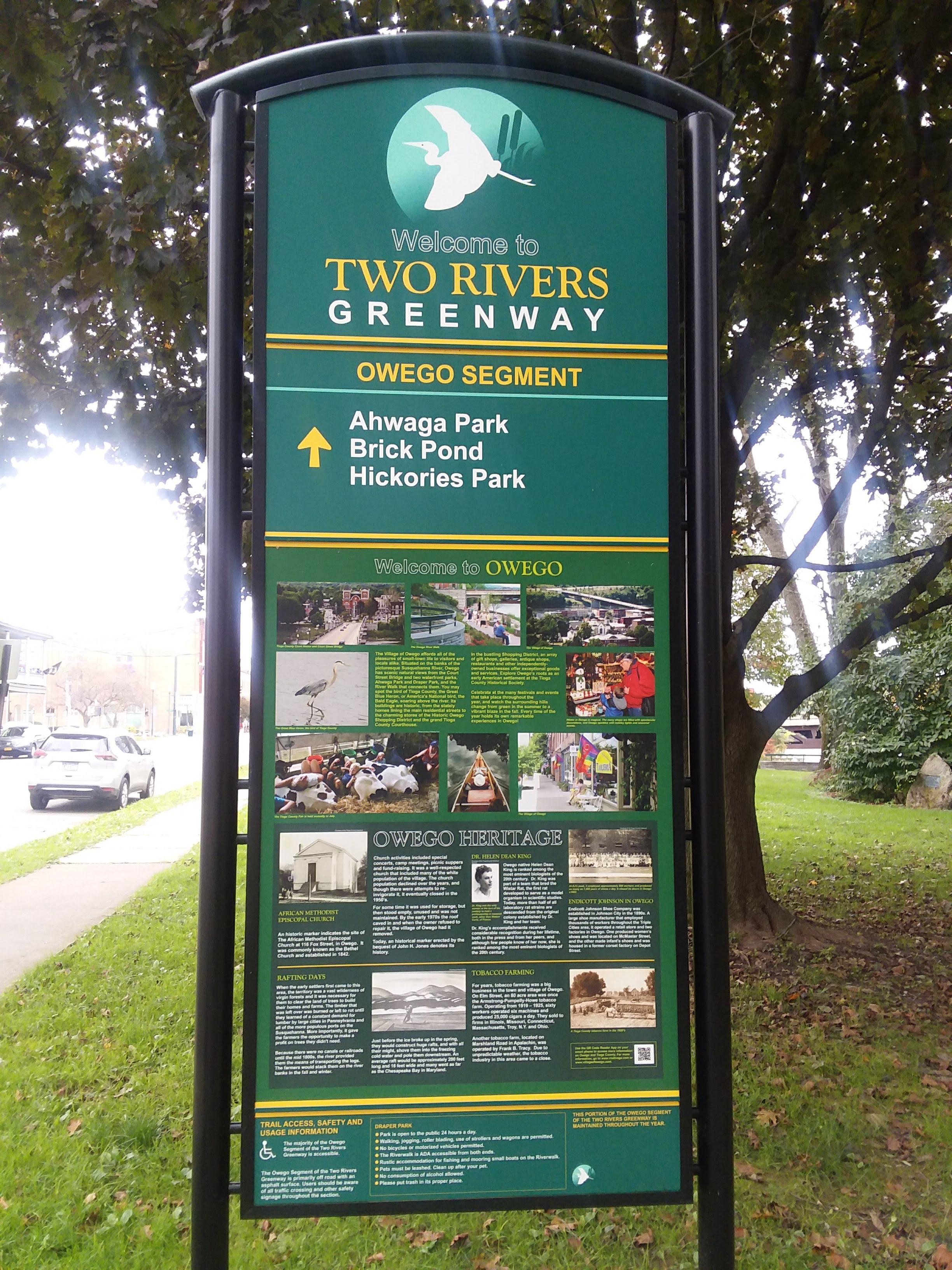 Owego River Walk1
