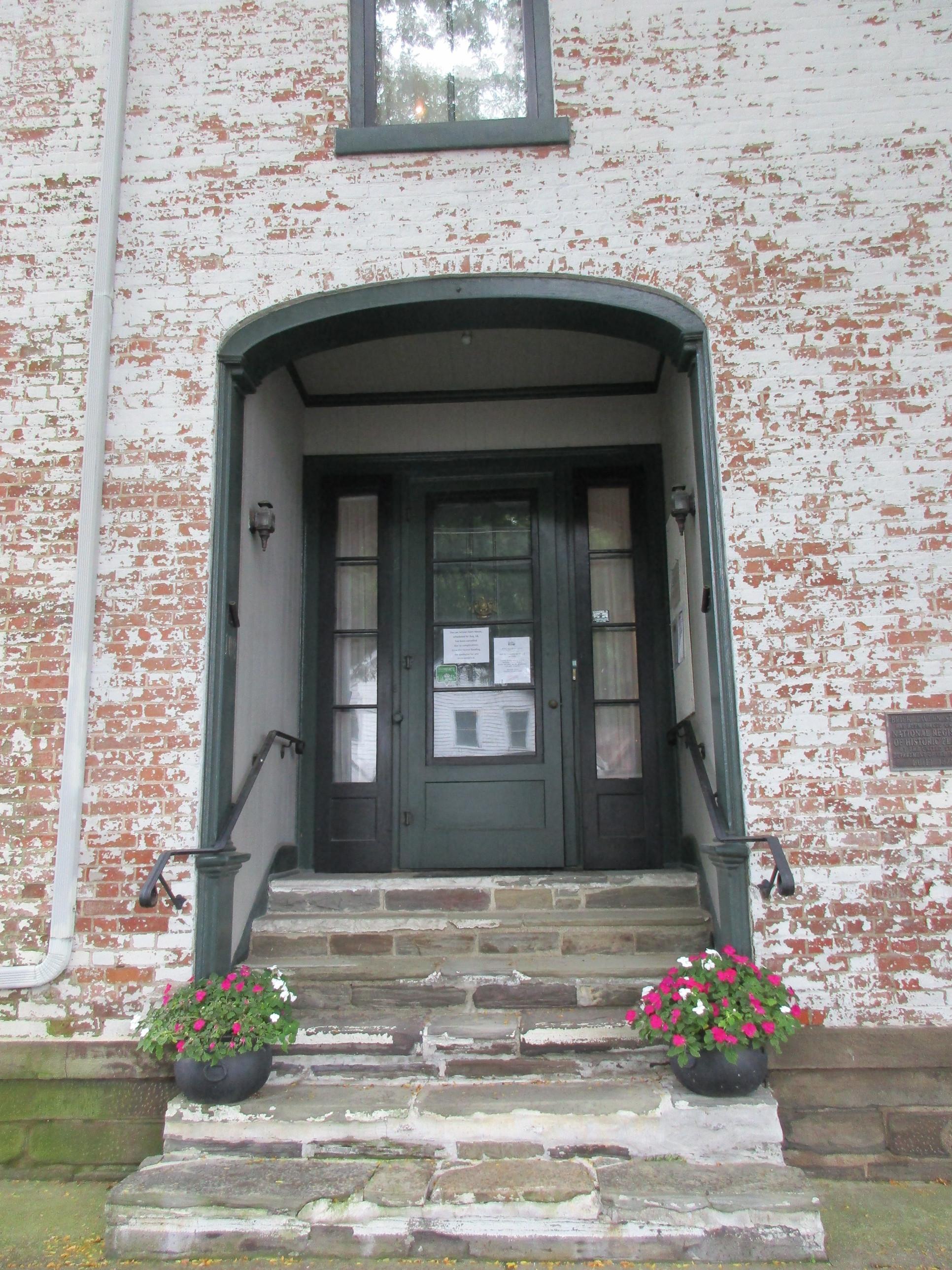 Brick Tavern Museum entrance