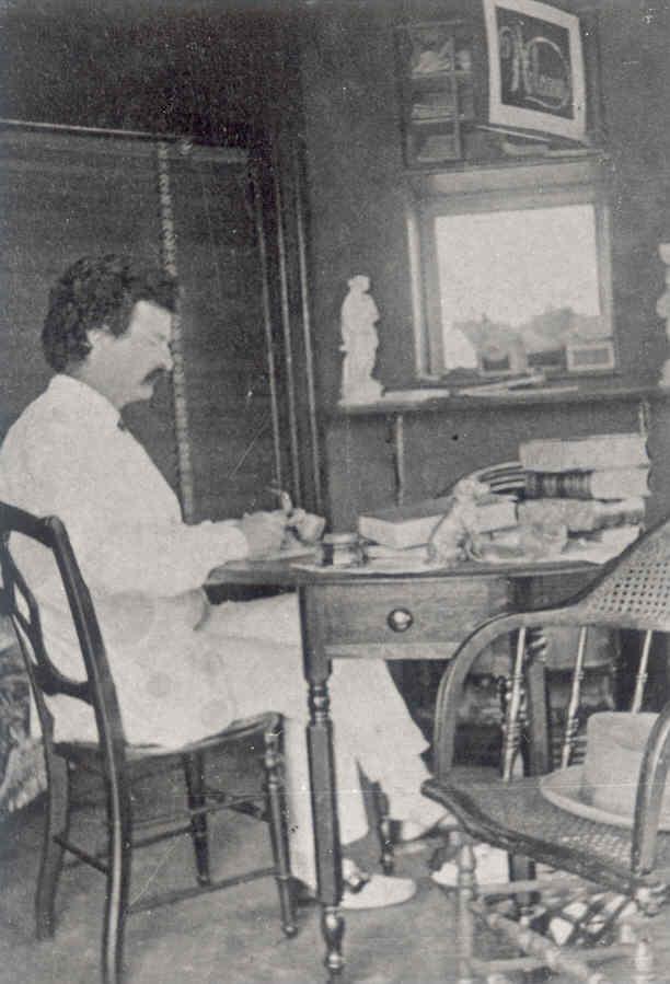 Samuel Clemons in Study