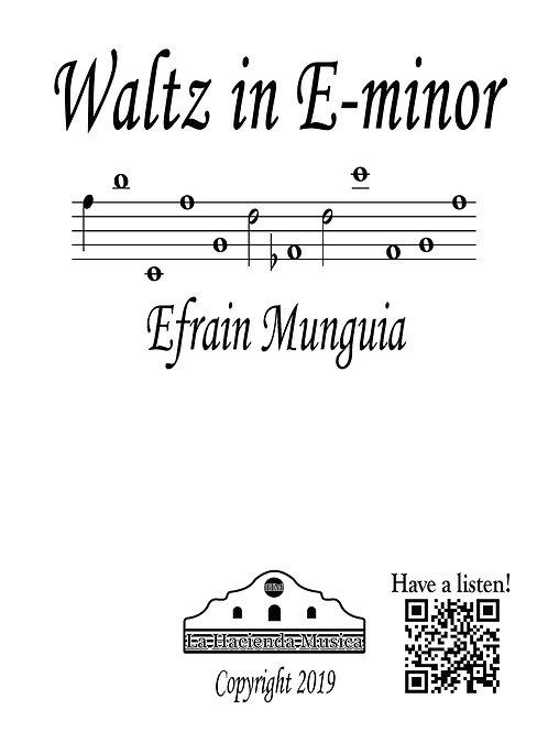 Waltz in E-minor