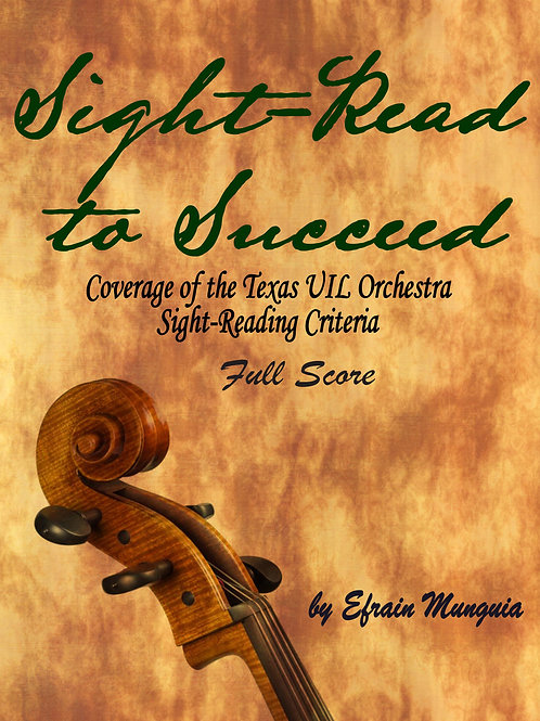 Sight-Read to Succeed: Conductor's Score