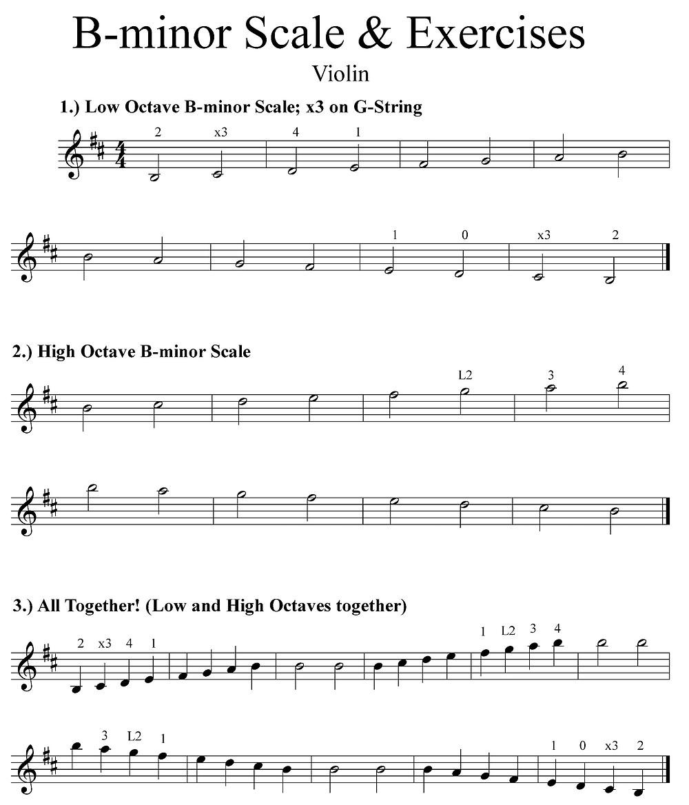 Violin Sample Page