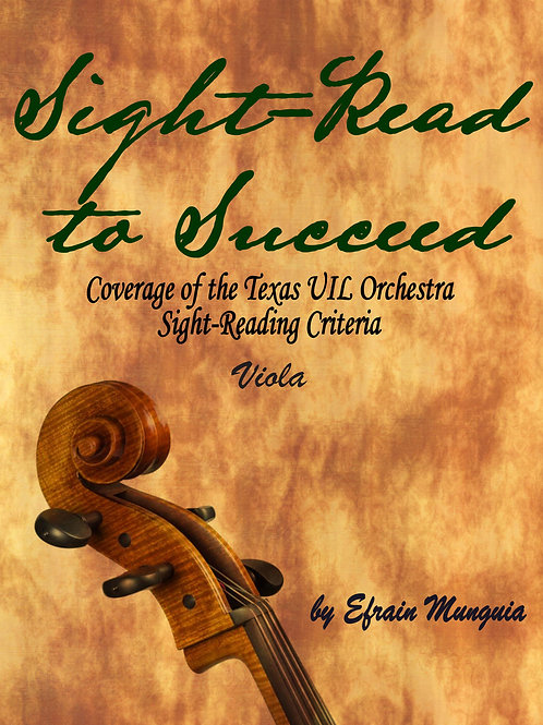 Sight-Read to Succeed: Viola