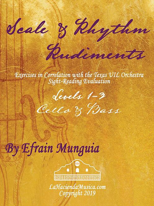 Scale & Rhythm Rudiments: Book 1 (Cello/Bass)