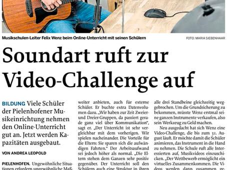 Ab sofort auch online - Videochallenge 2020