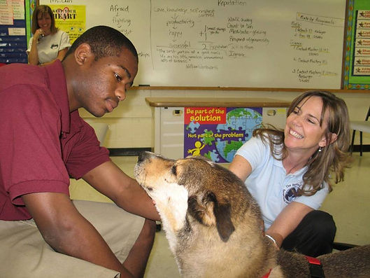 Social and Emotional Learning, Character Education, Humane Education, Therapy Dogs