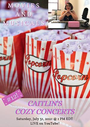 Caitlin Berger Flute Caitlin's Cozy Concerts #12