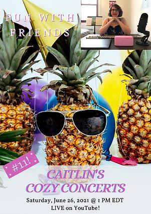 Caitlin Berger Flute Caitlin's Cozy Conc