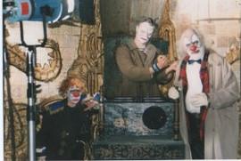 three evil clowns