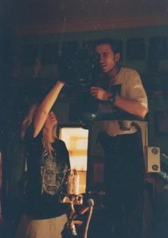 Tamara Jordan and cinematographerVila Richter