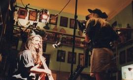 Tamara Jordan filming in Lisboa
