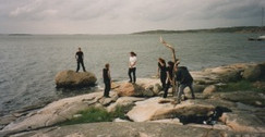 Filming the band Inflames in Sweden