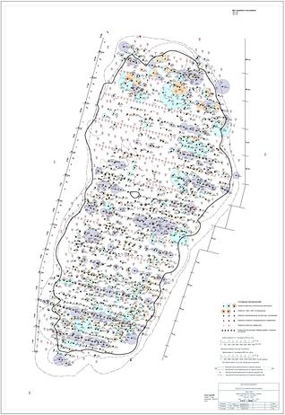 Карта накопленных отборов и закачки