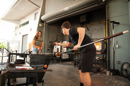 2018 12 03_Bacardi Glass Blowing Event_W