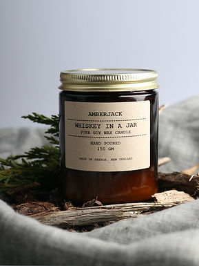 Amberjack soy candle