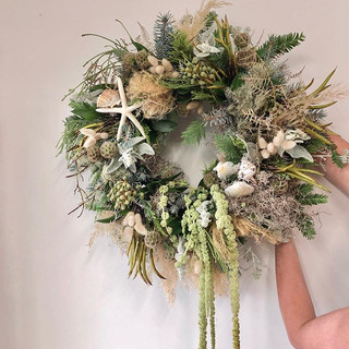 A coastal wreath request from Jo @sister