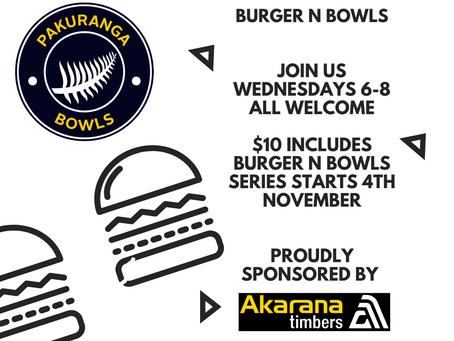 Burger N Bowls is back..