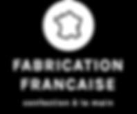 Logo d'informaton de la marque CHIEN-CHIEN : fabrication française, confection à la main