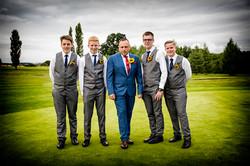 The Boys Wedding Photo