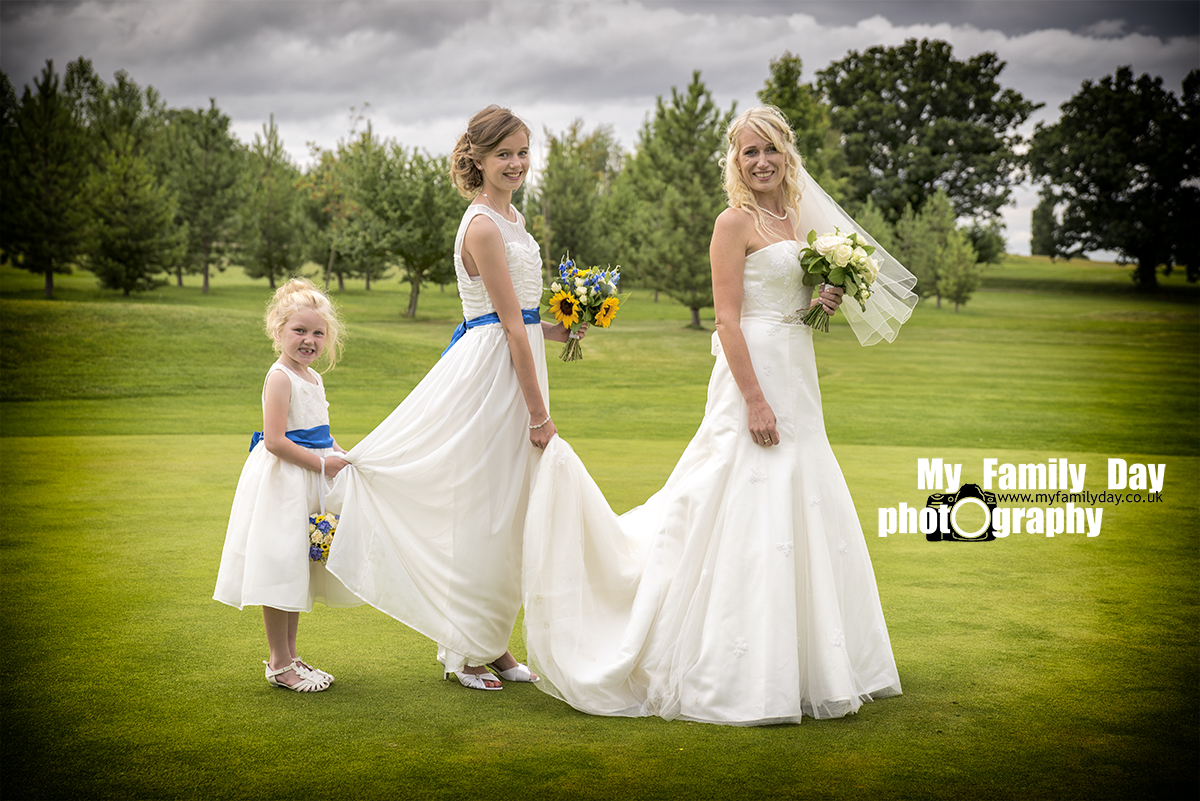The Girls Wedding Photo