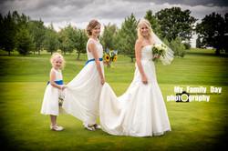 The Girls Wedding Photo