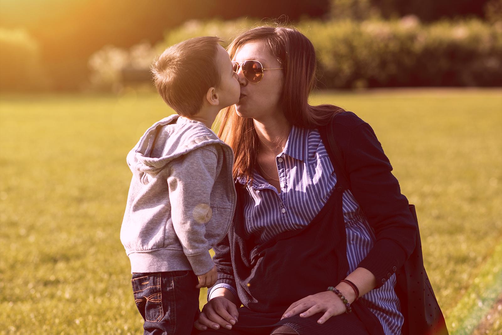 Kiss To Mummy