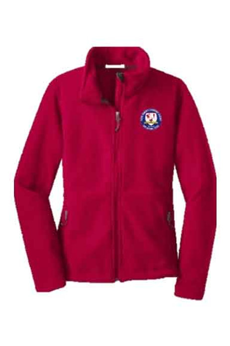 YWLA-Fleece-Jacket-Red-Youth