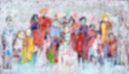 Familie.Öl_auf_Leinwand.65x110cm.2013.JP