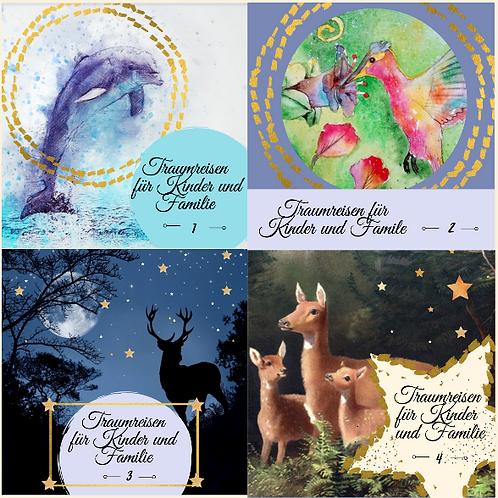 4 CD 24 Traumreisen für Kinder & Familie