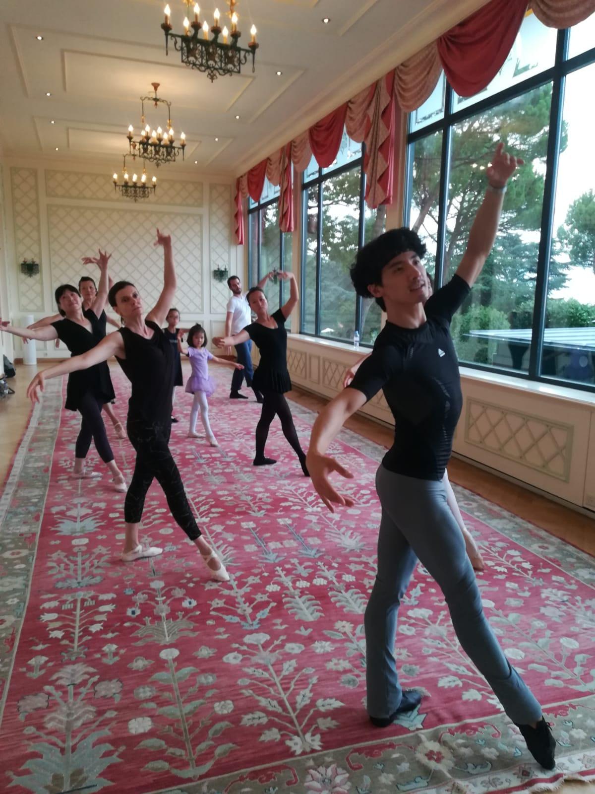 Adult Ballet class (online)