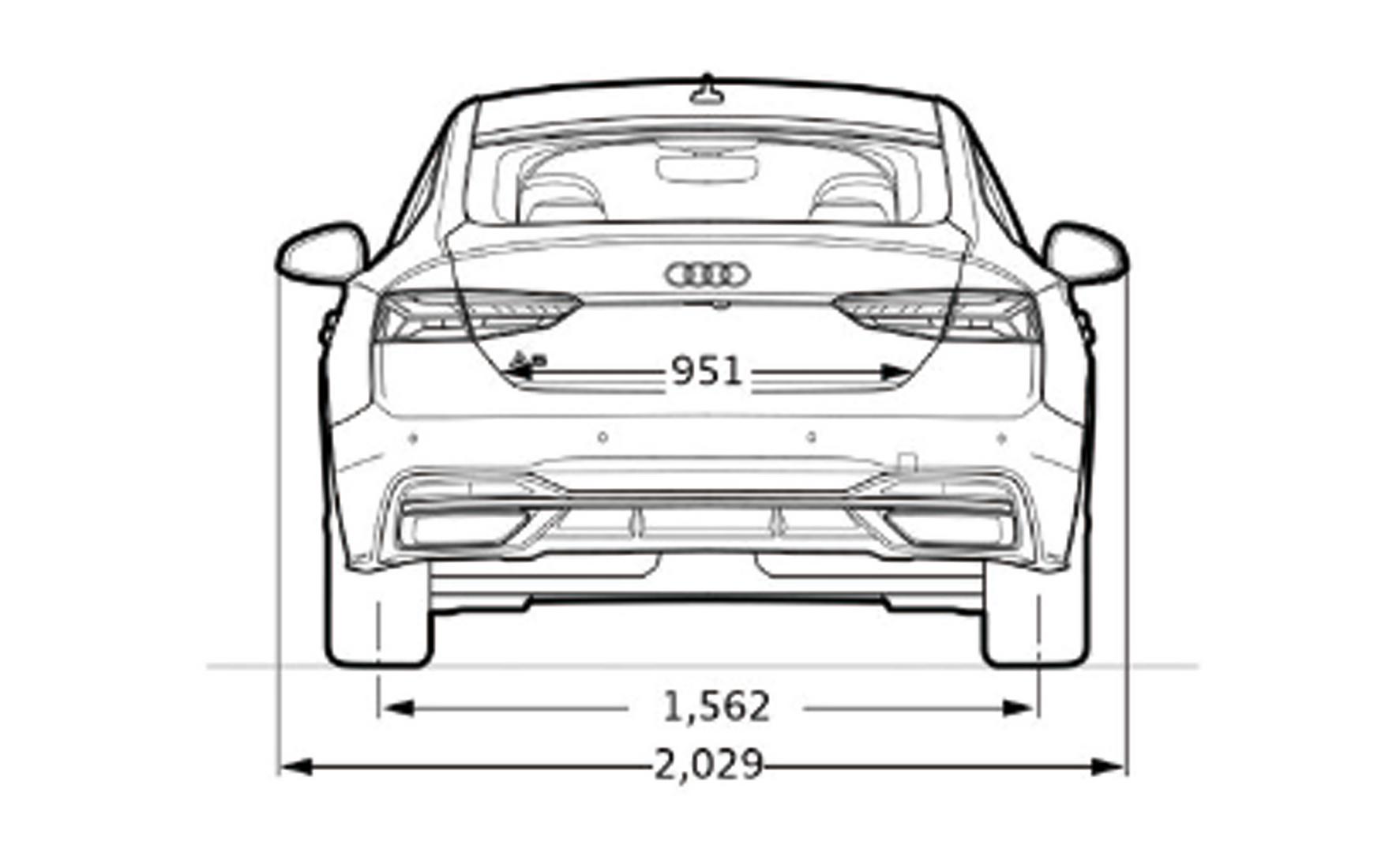 A5 rear