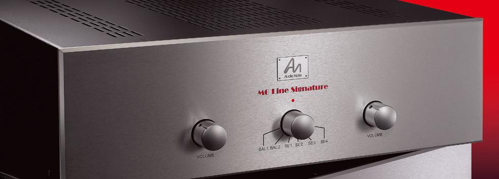 Audio note  M6 Line Signature Hi Fi Revi