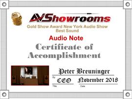 AV Showrooms - BEST SOUND New York Nov 2