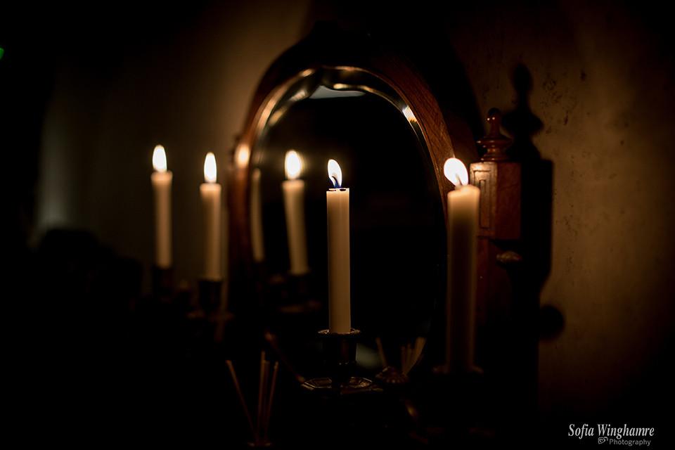 Candle light bar, Palma de Mallorca