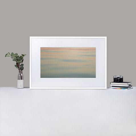 Fine art print of ocean